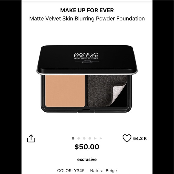 Makeup Forever Other - Make Up Forever Powder Foundation